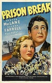 <i>Prison Break</i> (film) 1938 film by Arthur Lubin