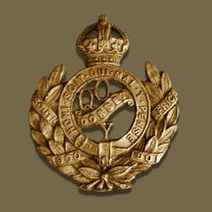 Queen's Own Dorset Yeomanry - Image: Queens Own Dorset Yeomanry Badge