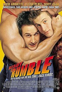 <i>Ready to Rumble</i> 2000 film by Brian Robbins