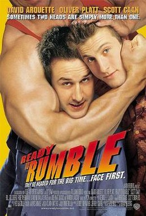 Ready to Rumble - Theatrical release poster