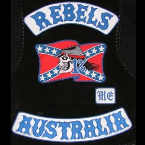 Rebels Motorcycle Club - Image: Rebels Motorcycle Club logo