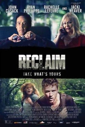 Reclaim (film) - Image: Reclaim 2014 film poster