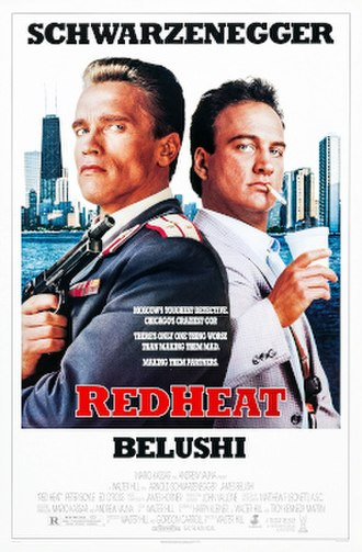 Red Heat (1988 film) - Theatrical release poster