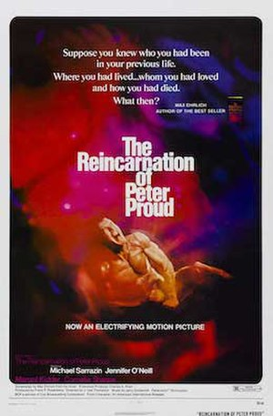The Reincarnation of Peter Proud - Theatrical release poster.
