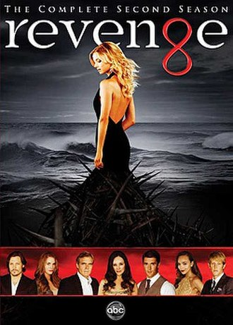 Revenge (season 2) - DVD cover