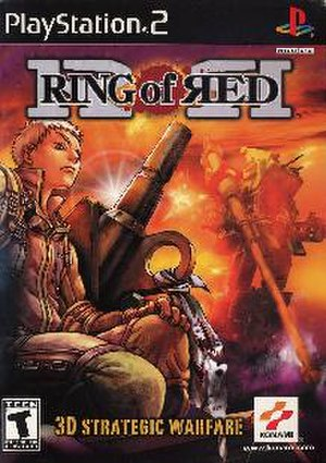 Ring of Red - North American PlayStation 2 cover art
