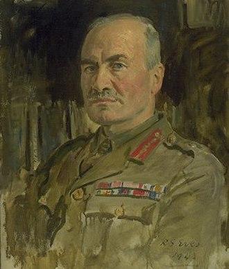 Ronald Forbes Adam - 1940 portrait by Reginald Eves