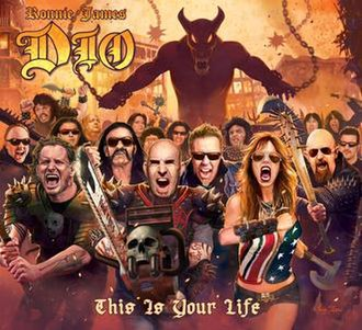 Ronnie James Dio – This Is Your Life - Image: Ronnie James Dio This Is Your Life cover