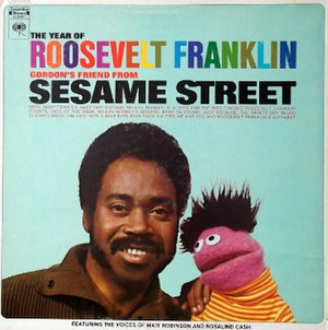 Roosevelt Franklin - The cover of Roosevelt Franklin's 1971 LP The Year of Roosevelt Franklin