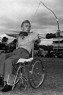 Ross Sutton Australian Paralympic competitor