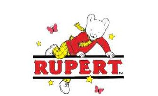 <i>Rupert Bear</i> comic strip character