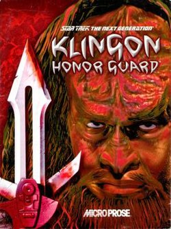 Klingon Honor Guard cover art