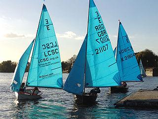 Enterprise (dinghy) type of sailing dinghy