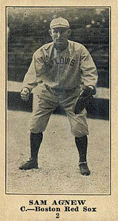 Sam Agnew American baseball player and coach