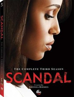 Season of American television series Scandal