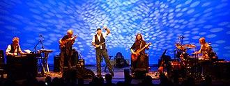 Scott Hammond (musician) - Scott Hammond playing live in USA with Ian Anderson 2010