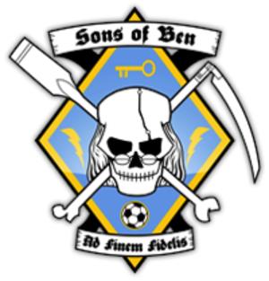 Sons of Ben (MLS supporters association) - Image: Sob jollyfranklin wiki