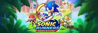 <i>Sonic Runners Adventure</i> 2017 platform video game