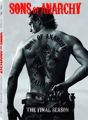 Sons of Anarchy (season 7) - Region 1 DVD cover