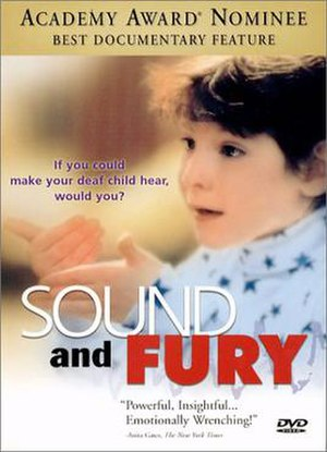 Sound and Fury (film) - DVD cover