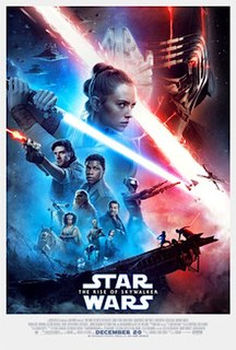 <i>Star Wars: The Rise of Skywalker</i> 2019 American epic space-opera film directed by J. J. Abrams