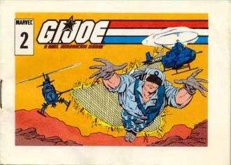 G.I. Joe: A Real American Hero - Image: Stardustercomic 2