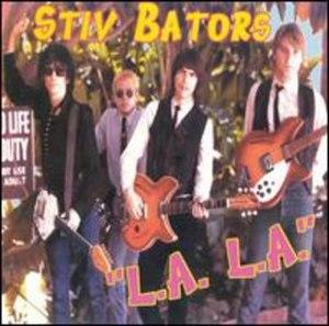 L.A. L.A. - Image: Stiv bators la la cover