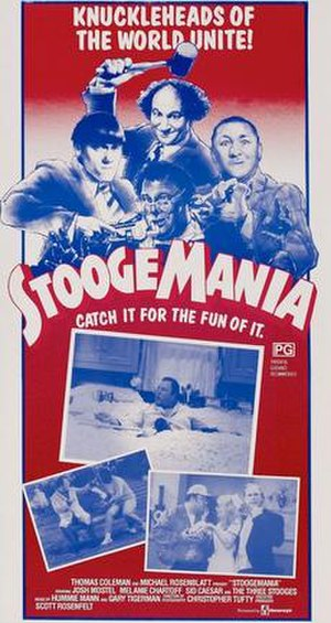 Stoogemania - Image: Stoogemaniaposter 1985