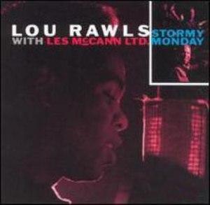 Stormy Monday (Lou Rawls album) - Image: Stormymonday Rawls