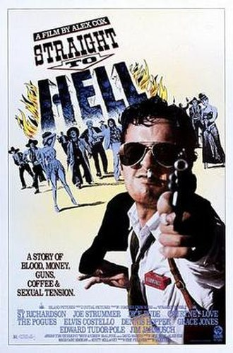 Straight to Hell (film) - Theatrical release poster