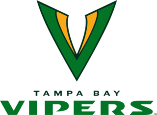 Tampa Bay Vipers XFL (2020) team based in Tampa, Florida