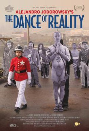 The Dance of Reality - Theatrical release poster