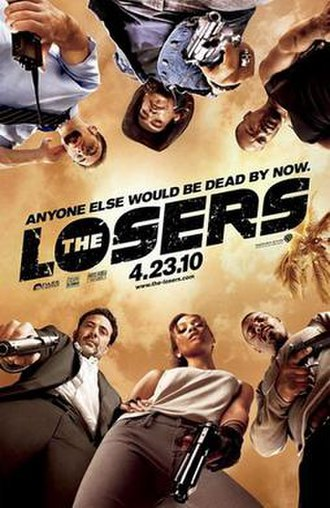 The Losers (film) - Theatrical release poster