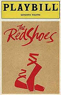 <i>The Red Shoes</i> (musical) musical based on the 1948 film The Red Shoes
