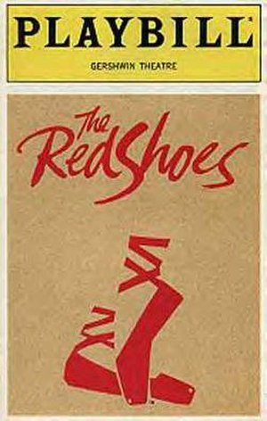 The Red Shoes (musical) - Original Playbill