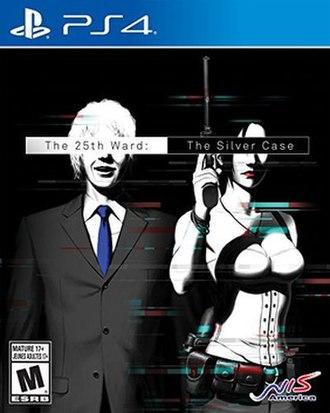 The 25th Ward: The Silver Case - European PlayStation 4 box art