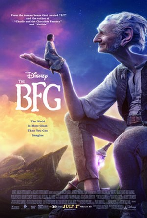 The BFG (2016 film) - Theatrical release poster