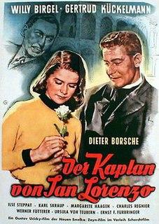<i>The Chaplain of San Lorenzo</i> 1953 film