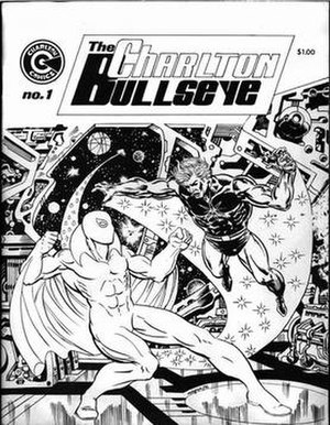 Charlton Bullseye (fanzine) - Image: The Charlton Bullseye 01 cover