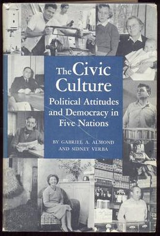 The Civic Culture - Cover of the 1963 edition