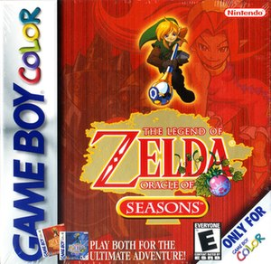 The Legend of Zelda: Oracle of Seasons and Oracle of Ages - Image: The Legend of Zelda Oracle of Seasons and Oracle of Ages Game Cover