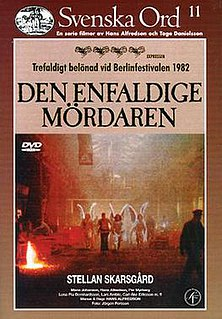 <i>The Simple-Minded Murderer</i> 1982 Swedish drama film directed by Hans Alfredson