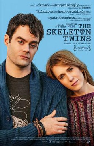 The Skeleton Twins - Theatrical release poster