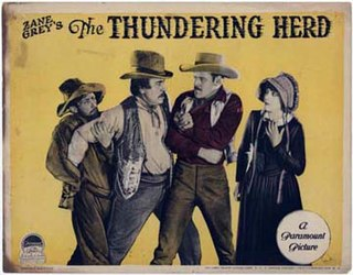 <i>The Thundering Herd</i> (1925 film) 1925 film by Henry Hathaway, William K. Howard