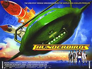 Thunderbirds (2004 film) - Theatrical release poster