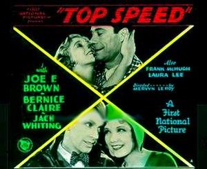 Top Speed (film) - Image: Top Speed 1930