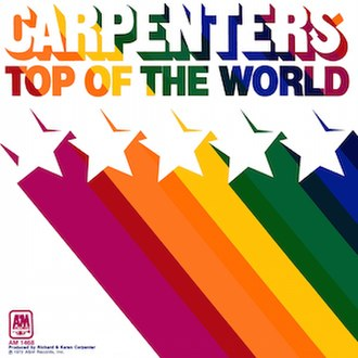 Top of the World (The Carpenters song) - Image: Top of the World (The Carpenters song) coverart