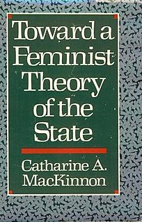 book by Catharine MacKinnon
