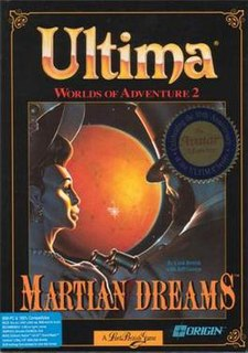 <i>Ultima: Worlds of Adventure 2: Martian Dreams</i> 1991 video game