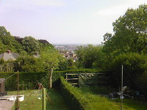 Brynglas - View over Newport from Brynglas Drive